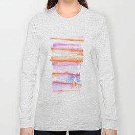 171122 Self Expression 4 | Abstract Watercolors Long Sleeve T-shirt