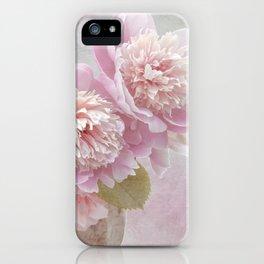 Peonies iPhone Case