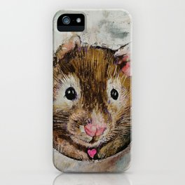 Hamster Love iPhone Case