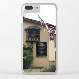Durty Nelly's Village Inn Clear iPhone Case