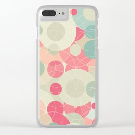 Sweet Roundabout 2 Clear iPhone Case