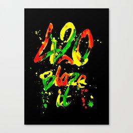 420 Blaze It Canvas Print