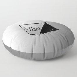 A. Ham / A. Burr Floor Pillow