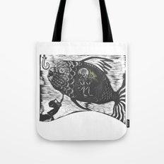 Hungry Fish Tote Bag
