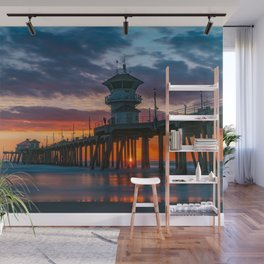 Last Sunset of 2018 Wall Mural