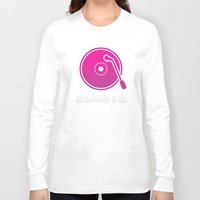 vinyl Long Sleeve T-shirts featuring Vinyl by Billy Tester