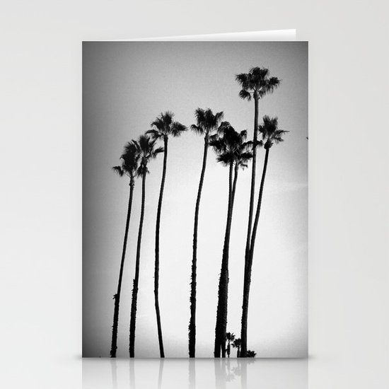 palm trees land Stationery Cards