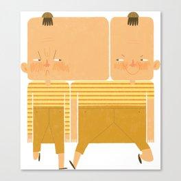 Tweedledum and Tweedledee Canvas Print