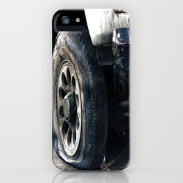 Flat Tire! iPhone Case
