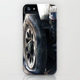 Flat Tire! iPhone Case