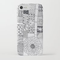 calendar iPhone & iPod Cases featuring Bloom Calendar by sinonelineman