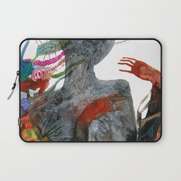 with my voice i'm calling you Laptop Sleeve