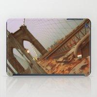 brooklyn bridge iPad Cases featuring Brooklyn Bridge  by S|Tarah