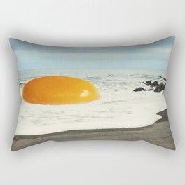 Beach Egg - Sunny side up Rectangular Pillow