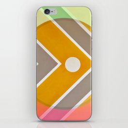 Fish - color graphic iPhone Skin