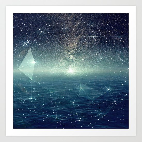 ...The Stars, Look How They Shine For You Art Print