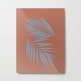 Palm Leaves #4 #AutumnLeaf #foliage #decor #art #society6 Metal Print