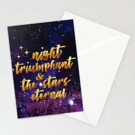 Night Eternal Stationery Cards