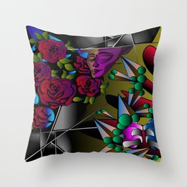 What's in your mind? Throw Pillow