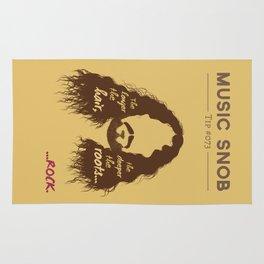 The Longer the Hair — Music Snob Tip #073 Rug