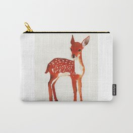 Bambi watercolor Carry-All Pouch