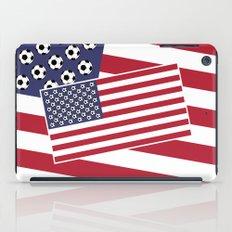 United States of Soccer iPad Case