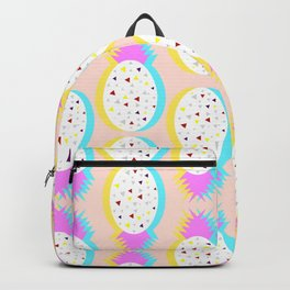 Pastel pineapples Backpack