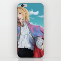 howl iPhone & iPod Skins featuring Howl by StrawberryLuv32