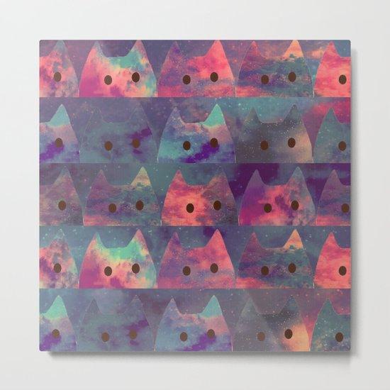 cats-128 Metal Print