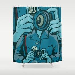 The Public Lens Shower Curtain