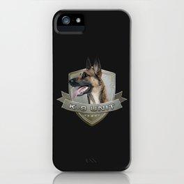 K9 Unit  - Malinois iPhone Case