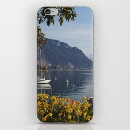 Swiss Riviera Lakeside IV iPhone Skin