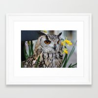 elmo Framed Art Prints featuring Elmo III by Astrid Ewing