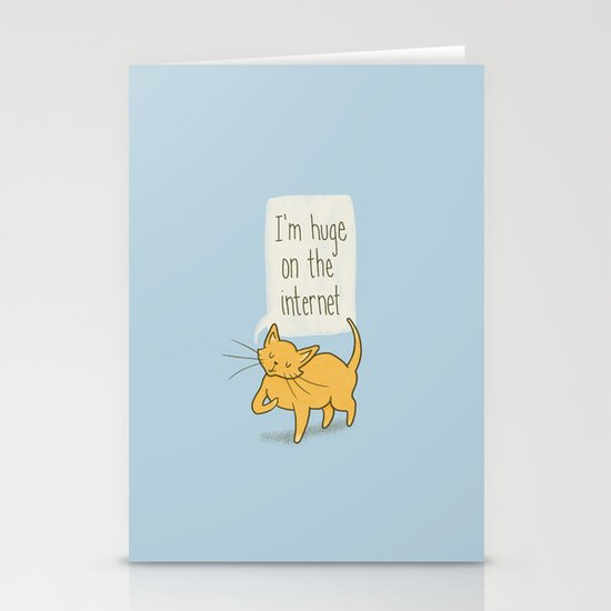 Huge on the Internet Stationery Cards