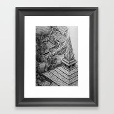Srinigar. Kashmir Framed Art Print