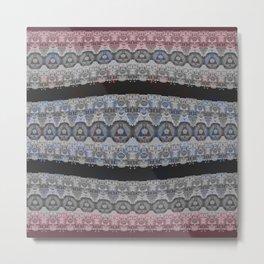 Illuminati Goth Lace Print Metal Print