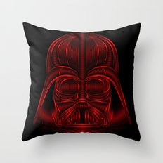 Star . Wars - Darth Vader Red Throw Pillow