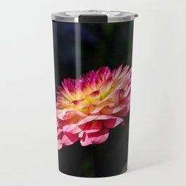 Dahlia flower in full bloom Travel Mug