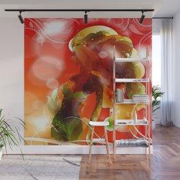 Sommermädchen Wall Mural