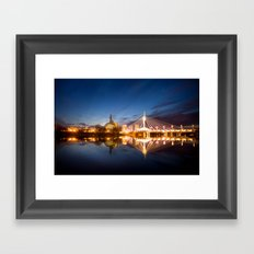 Winnipeg, MB, Canada Framed Art Print