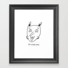 Total Mess Framed Art Print