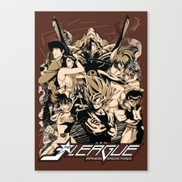 J-LEAGUE - Japanese Special Force Canvas Print