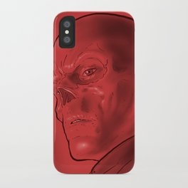 The Red Skull iPhone Case