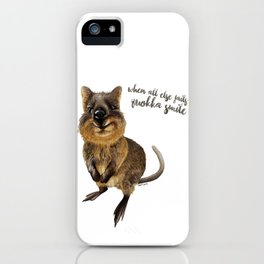 Quokka Smile  iPhone Case