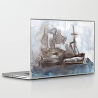 boats Laptop & iPad Skins featuring Boats by Marine Koprivnjak