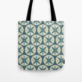 Blue Sand Dollar Tote Bag