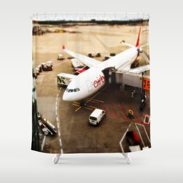 Airport Shower Curtain