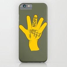 Palmistry Nope iPhone 6s Slim Case