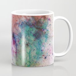 Star Gazer - Abstract, space, ink painting Coffee Mug