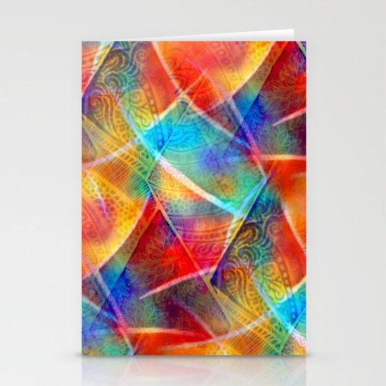 Boho Rainbow Stationery Cards